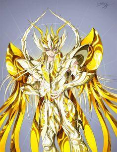 God Gold Saint Virgo Shaka, Saint Seiya Soul of Gold: Artwork by Spaceweaver