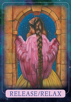 Oracle Card Release/Relax | Doreen Virtue - Official Angel Therapy Website