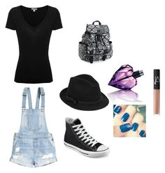 """""""Bez naslova #3"""" by almma-karic ❤ liked on Polyvore featuring H&M, James Perse, Converse, RED Valentino, Diesel, NARS Cosmetics and Aéropostale"""