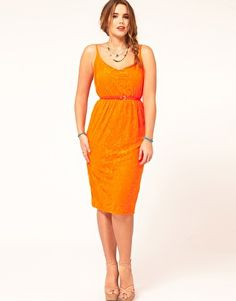 Enlarge ASOS CURVE Exclusive Lace Dress
