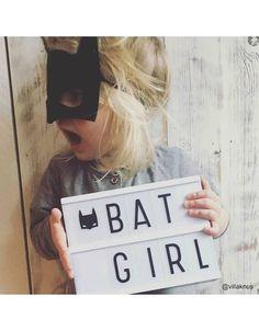 My Shining Armour Cinema Lightbox A5 Batgirl