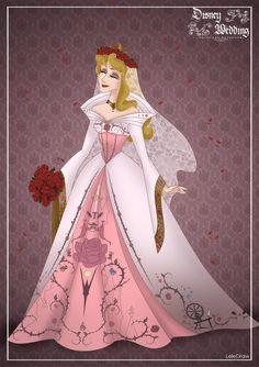 Aurora - Disney Wedding Princess designer by GFantasy92