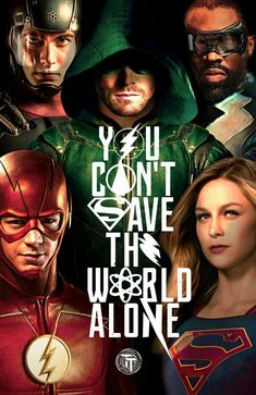 """Much better:) I love how Black lightnig os there now even though he """"isnt part of the arrowverse"""""""