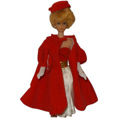 Vintage Barbie Outfits, Red Flare #939, Silken Flame,#977 Barbie Doll Case, Barbie Car, Barbie Dress, Barbie And Ken, Vintage Barbie Clothes, Doll Clothes, Free Barbie, Red Flare, Blue Evening Gowns