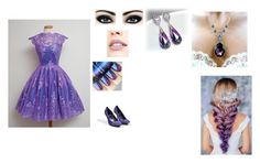 """""""purple princess style"""" by rainycatz-12 ❤ liked on Polyvore featuring 1928, Jouer, Max Factor, Pierre Hardy, purple, beautiful and princess"""