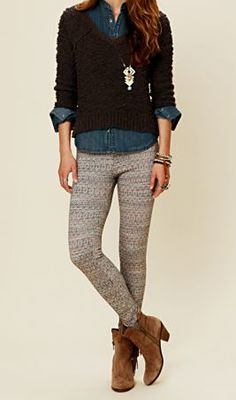 FREE PEOPLE PATTERN LEGGING BLACK COMBO $68- CALL SPLASH TO ORDER 314-721-6442