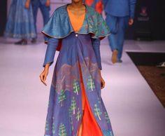Indian Contemporary Wear by Vastragatha by Ravi Ranjan Kumar at Bangalore Fashion Week