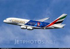 Photo of A6-EON Airbus A380-861 by Federico Villadei