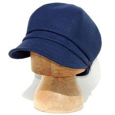 Handmade French cap Navy cotton cap Navy newsboy cap Rain Hat 6a8e980dc8ef
