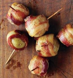 Bacon-Wrapped Potatoes | 17 Christmas Party Food Ideas | Easy To Prepare Finger Foods