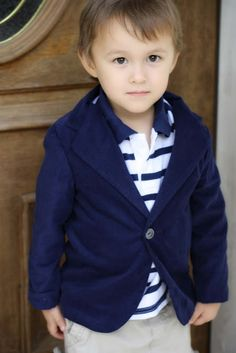Toddler blazer-- $6 pdf pattern. Easter outfit?