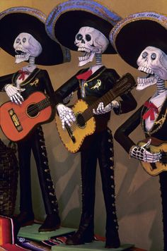 """Just heard that Pixar is planning to make an animated film about """"Dia de los Muertos"""" or """"Day of the Dead"""" - the Mexican holiday which takes place every year around Halloween and involves vibrant shrines, colorful flowers, sugar skulls, and is a reflective celebration of loved ones who have passed away.  Can't wait for it to happen in 2015.  The Mexican folk art gallery in the Houston Heights area, Casa Ramirez has all kinds of supplies for your holiday celebration..."""