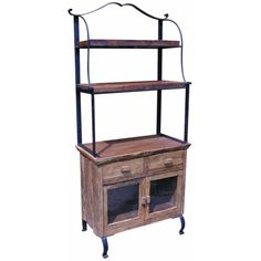 Shop GroovyStuff Iron Horse Country Bakers Cabinet At ATG Stores. Browse  Our Bakeru0027s Racks, All With Free Shipping And Best Price Guaranteed.