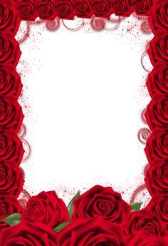 Photo Frame Wallpaper, Framed Wallpaper, Flower Picture Frames, Flower Frame, Flower Phone Wallpaper, Rose Wallpaper, Red Roses Background, Text Background, Paper Background