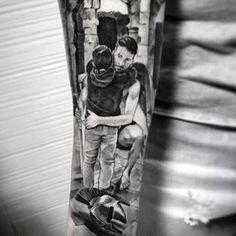 Father Daughter Family Tattoo