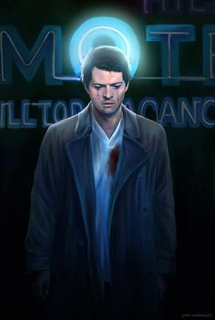 Supernatural fanart. Angel in America by petite-madame