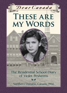 I used to love the Dear Canada series. will have to find this one. Dear Canada: These Are My Words: The Residential School Diary of Violet Pesheens By Ruby Slipperjack Cher Journal, New Books, Good Books, Books To Read, Ontario, School Diary, Indigenous Education, Canadian History, Canadian Culture