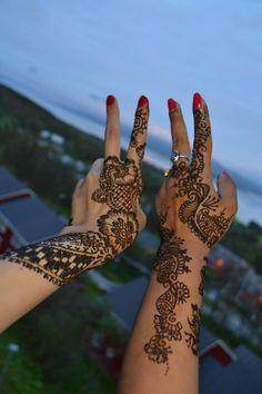 shrawan ...henna