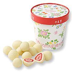 サクサク食感と甘酸っぱさのマリアージュ六花亭 ストロベリーチョコレート