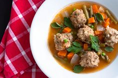 turkey instead of beef Albondigas Mexican Meatball Soup healthy Turkish Recipes, Mexican Food Recipes, Soup Recipes, Cooking Recipes, Healthy Soup, Healthy Eating, Healthy Recipes, Mexican Meatball Soup, Meatball Stew