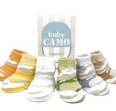 Camo baby socks