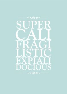 Mary Poppins' contribution to the vocabulary awareness of the writing world.