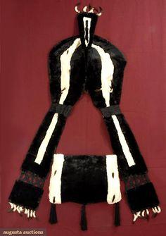 Paris Label Edwardian Ermine Accessory Set, Augusta Auctions, October 2007 Vintage Clothing & Textile Auction, Lot 668