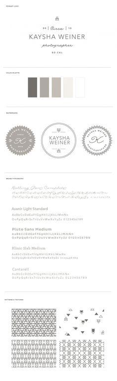 Kaysha Weiner Photography Brand Board by BRAIZEN