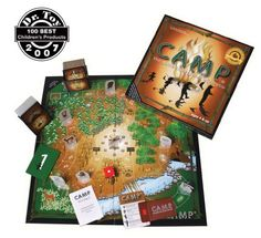 Camp Board Game « Game Searches