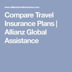 Compare & buy travel insurance for trip cancellations, emergency medical & more. Dream Vacations, How To Plan, Travel, Insurance Companies, Italy, Alaska, Thailand, Germany, Sea