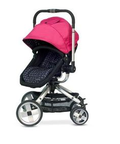 Amazon.com: JJ Cole Broadway Stroller With Color Swap Canopy (Sassy): Baby
