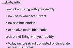 I miss daddy 😿