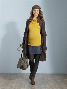 Maternity stretch denim skirt STONEWASHED DENIM (SEE P. 201) £29