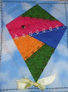 kite crazy quilt