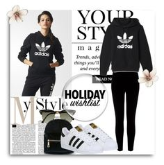 """""""my holiday wishlist"""" by shell-721 ❤ liked on Polyvore featuring adidas, Warehouse, Ray-Ban, Pussycat and 2015wishlist"""