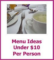 Luxurious Wedding Reception Menu Ideas