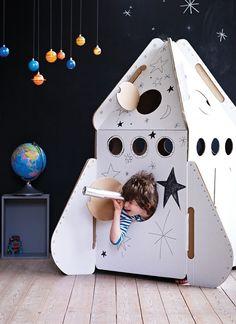 spaceship room