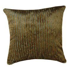 Russet Mink Throw Pillow