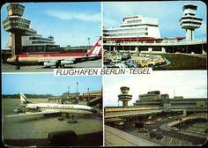 Ansichtskarte / Postkarte Berlin Tegel, Flughafen, Air France, Aeroamerica | akpool.de