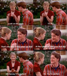 Sabrina and Harvey <3 Best, TV couple. ever