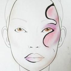 Using face templates with links to tutorial videos. http://www.squidoo.com/makeup-face-charts