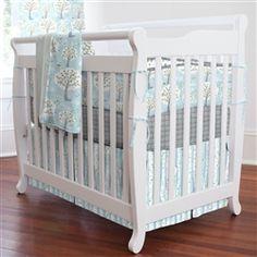 Windy Day Mini Crib Bedding