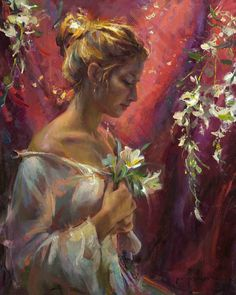 Daniel F. Gerhartz Amazing Paintings, Art Walk, Oil Portrait, Beautiful Artwork, American Artists, Figure Painting, Kinder Art, Love Art, Art Boards