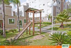 Paisagismo do Regalle Club. Condomínio fechado de apartamentos localizado em Ribeirão Preto / SP.