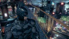 Batman: Arkham Knight, the Riddler makes an announcement.