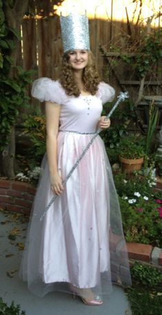 Halloween Costume Idea Glenda the Good Witch halloween costume #costume