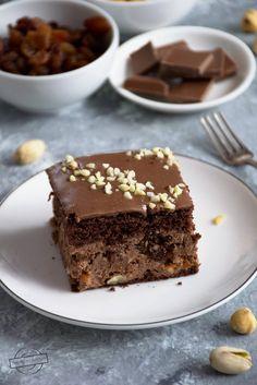Ciasto bakaliowo-czekoladowe – Smaki na talerzu Food, Meal, Essen, Hoods, Meals, Eten