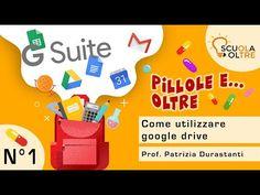 Pillola n°1 - Come utilizzare google drive - Scuola Oltre - YouTube Google Classroom, Design Social, Flipped Classroom, Google Drive, Big Data, Coding, Internet, Teaching, Marketing