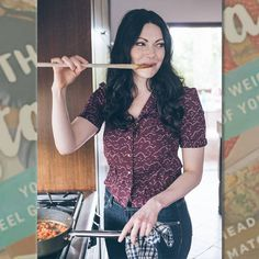 LAURA PREPON COOKING FROM HER NEW BOOK THE STASH PLAN