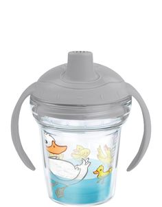 Just Ducky - My First Tervis Sippy Cup with Lid |  If it looks like a sippy cup, is easy to hold like a sippy cup and drinks like a sippy cup, it has to be a Just Ducky sippy cup!